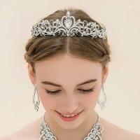 mahkota pesta tiara pengantin wedding Terlaris