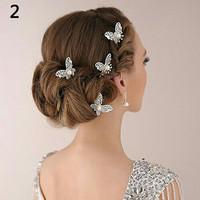Hairpin Hairpiece Headpiece Kupu kupu butterfly aksesoris rambut tus