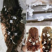 aksesories rambut sanggul wedding hair accesories Terlaris