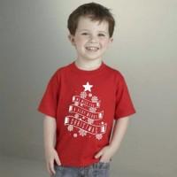 kaos natal anak 3