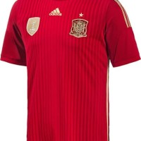 jual jersey bola GRADE ORI Spain Home World Cup 2014 Official Nike