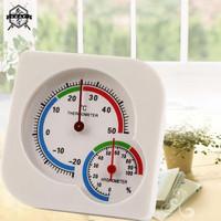 Hygrometer Thermometer Analog. Alat Ukur Suhu dan Kelembaban Analog.