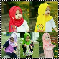 jilbab bayi anak/pastan anak/pashmina instan ukuran XS-S 1-6 Thn