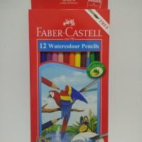 Pensil Warna Faber Castell 12 Warna Watercolour