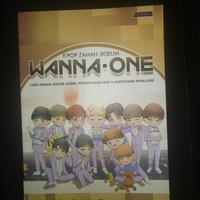 Original buku Kpop zaman jigeum wanna -one