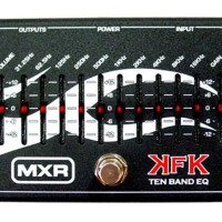 Efek Gitar Equalizer MXR Kerry King 10EQ KFK 1