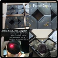 BLACK WALET FACIAL SOAP -SABUN WAJAH BLACK WALET ORIGINAL / BOX ISI 3