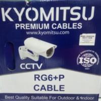 Kabel CCTV coaxial RG 6 + Power Kyomitsu