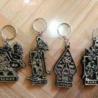 souvenir pernikahan gantungan kunci wayang murah unik