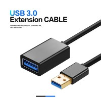 USB 3.0 Extension Cable Male to Female Type A Gold Plated 1 Metre