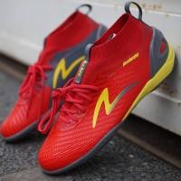 Sepatu Futsal Specs Accelerator Infinity IN Emperor Red Original Promo