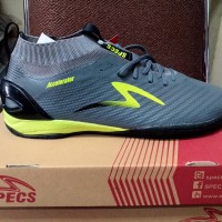 Sepatu Futsal Specs Accelerator Infinity IN Dark Granite Original