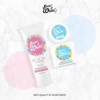 Paket Everwhite Pink & Blue Tubuh Body Dan Axillary Cream Ever White