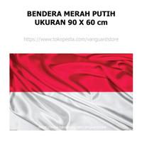 Bendera Indonesia Merah Putih Ukuran 90 x 60 cm / 60 x 90 cm
