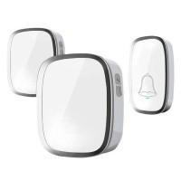 Bell Bel Pintu Pagar Rumah Wireless Waterproof 2 Receiver A101