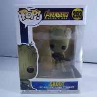 FUNKO POP Groot Guardian Of The Galaxy Marvel Avengers Infinity War