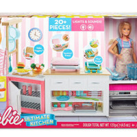 Barbie Ultimate Kitchen / Furniture Barbie /rumah barbie peralatan