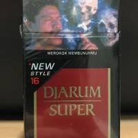 Djarum Super 16 Batang / Rokok Jarum Kretek Filter / Grosir Promo