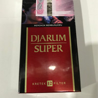 Djarum Super 12 Batang / Rokok Jarum Kretek Filter / Grosir Promo