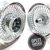 Sepakat velg custom jari seribu 14 250 350 motor nmax aerox 155