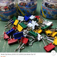 binder clip warna/ni
