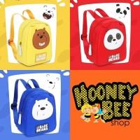 Japan Quality - Tas We Bare Bears Miniso Ransel Anak Kid Import