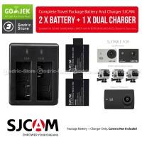 Complete Set Baterai/Battery Charger for SJCAM & BRICA B-PRO5 ALPHA