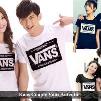 kaos couple | kaos pasangan | kaos distro | kaos couple vans authentic