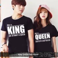 baju couple | baju pasangan | jual kaos oblong | king queen only