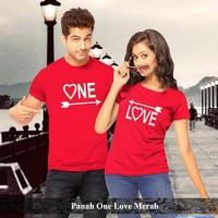 grosir kaos murah | kaos pasangan terlengkap | panah one love couple