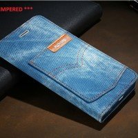 iPhone SE 2020 / 8 / 7 Levi's Jeans Flip Case ORI