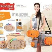 TAS JUMBO/TAS BESAR dialogue 3in1 cute series perlengkapan bayi