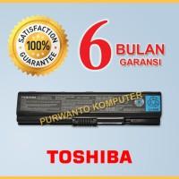 Original Baterai Laptop TOSHIBA Satellite A200 A210 A300 A300D PA3534U