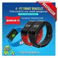 Smart Watch 4-Fit Heart Rate Blood Xiaomi Mi Band 2 Killer ( Mi A1 )