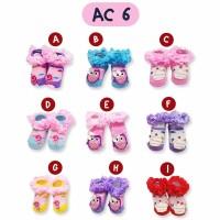 Kaos Kaki Tutu Ruffle Bayi Girl 9 Pilihan Motif - Baby Sock Girl 0-12M