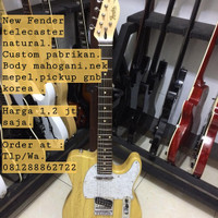 New fender telecaster natural
