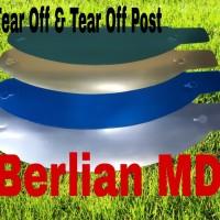 Paket murah Tear off + tear off post untuk helm kbc/helm thx