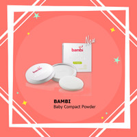 Bambi Baby Powder Compact / Bedak Compact Bayi