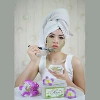 Lulur Wajah Green Tea - Masker Wajah Alami - Netto 220 Gr - Best