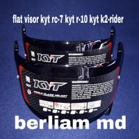 Flat visor/kaca helm datar kyt r10 kyt rc 7 kyt k2 rider original
