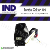 Handle-Handel-Holder-Tombol Saklar-Switch Lampu Mio/Mio Soul-Sporty
