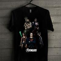 Kaos Superhero JUSTICE LEAGUEvsAVENGERS-0004