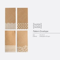 Pattern Envelope / Amplop / Angpao - Rustic & Minimalist
