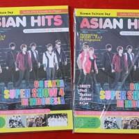 Majalah Asian Hits Vol. 28 Cover Super Junior (Bonus Poster)
