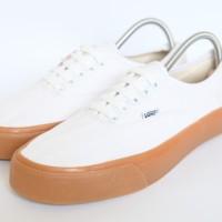 Sepatu Vans Authentic Gum Putih Premium Quality - Putih, 36