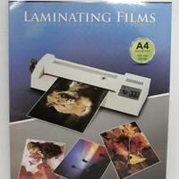 Plastik Laminating Film A4 ( isi 100 Lembar)-Laminator/Mesin Laminasi