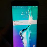 Samsung S6 Edge Plus 64gb shadow sm chasan aja