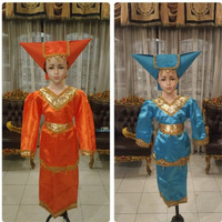 Pakaian adat padang anak baju sumatra Lk/Pr - Fanta, CEWE S