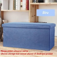 SB014 - Cotton Storage Box Warna 40 x 25 x 25 cm / Kotak Penyimpanan -