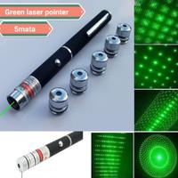 green laser pointer 5 mata / laser hijau